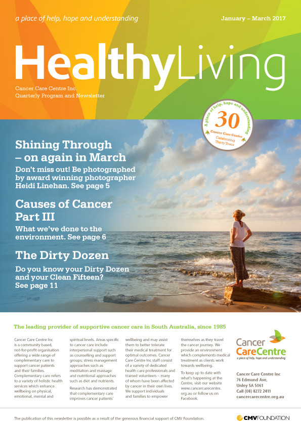 Healthy Living January-March 2017 Cover