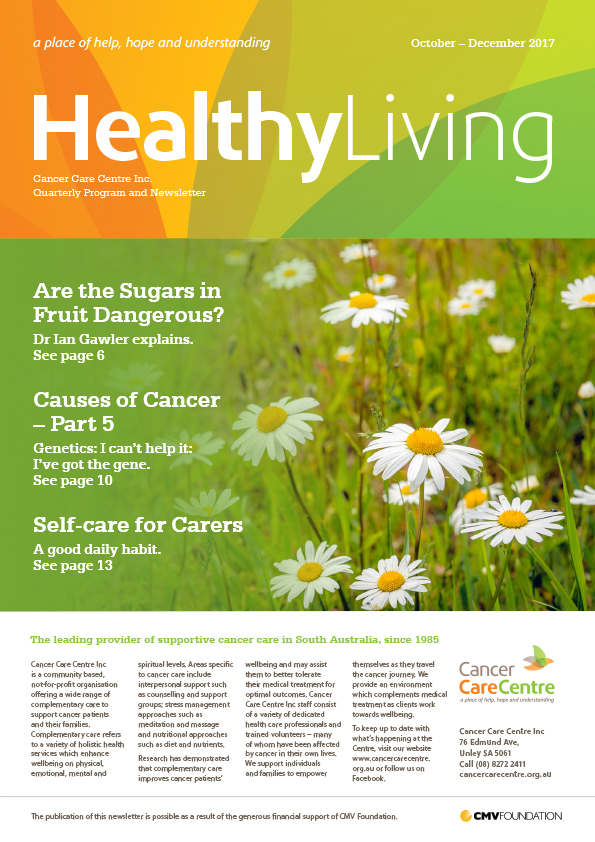 Healthy Living October-December 2017 Cover