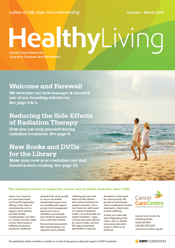 Healthy Living January-March 2018 Cover